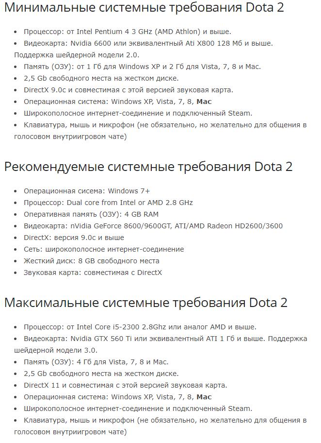 не обнаружен direct3d dota 2