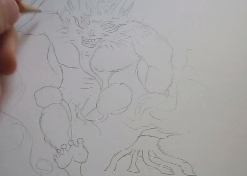 Как нарисовать героев из Dota 2 поэтапно
