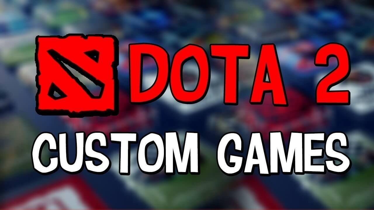 Как играть в кастомки Dota 2